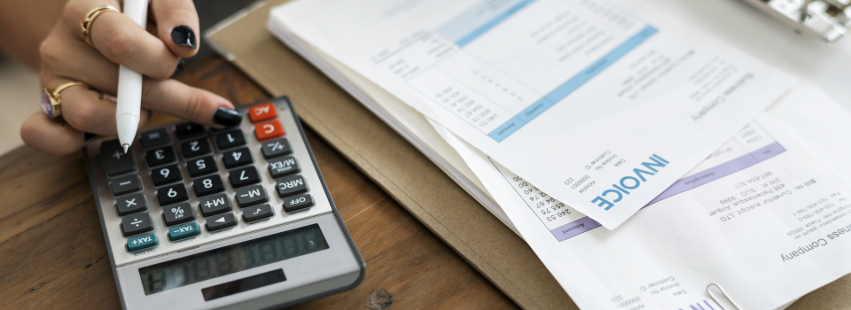 Calculating invoices and bills